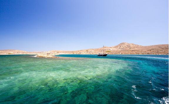 Blue shores of Delos