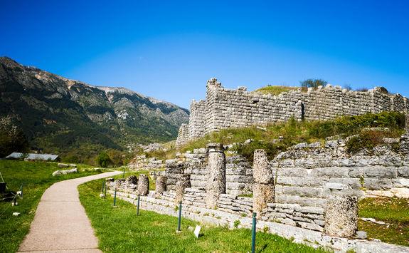Ruins in Dodona