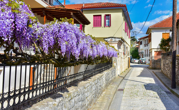 Beautiful street in Ioannina