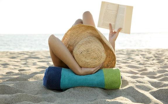 Beach sunbath