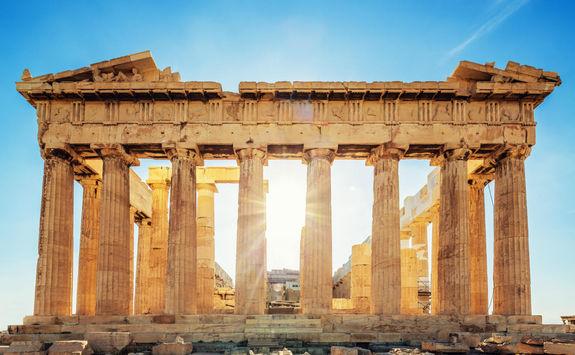 Acropolis Parthenon temple