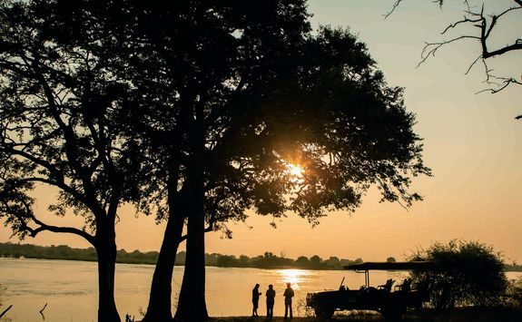 Zambezi sundowners
