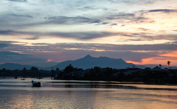 River in Kuching Borneo