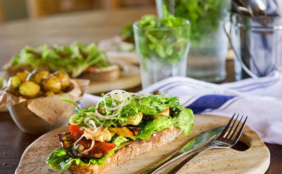 smorgas open sandwich