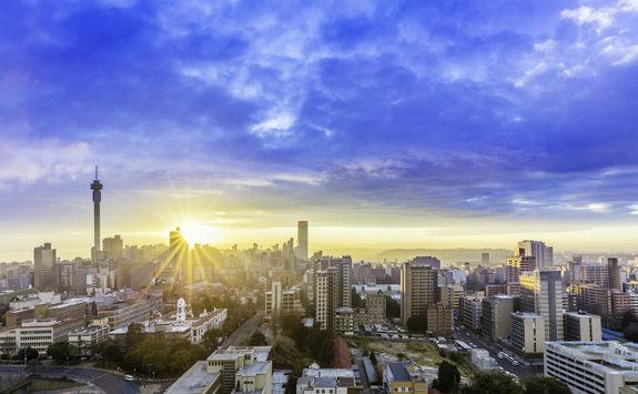 Johannesburg sunrise