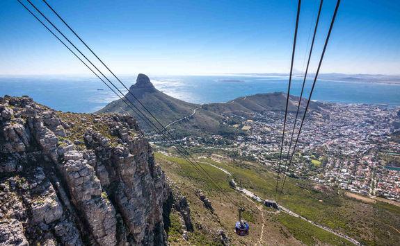 Cable car Cape Town