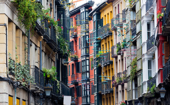 Street in Bilbao