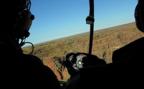 Helicopter Kimberley