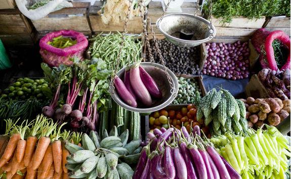 Vegetable in a Sri Lankan market