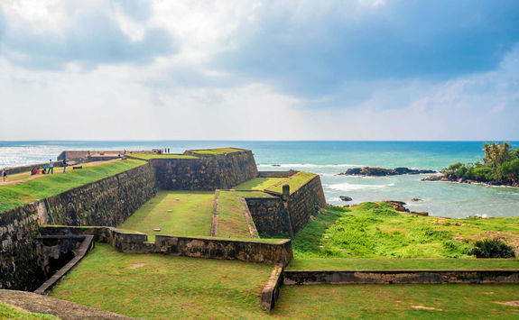 Scenery of the fort in Galle