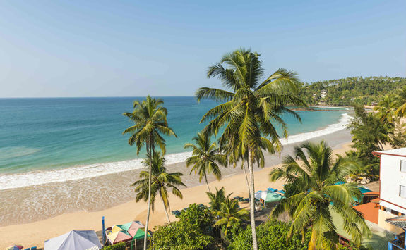 Beach in Galle, Sri Lanka