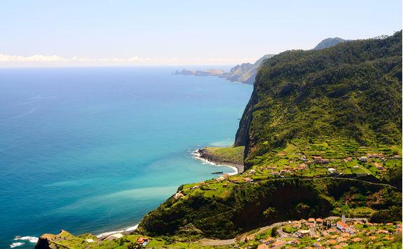 Madeira coastal landscape