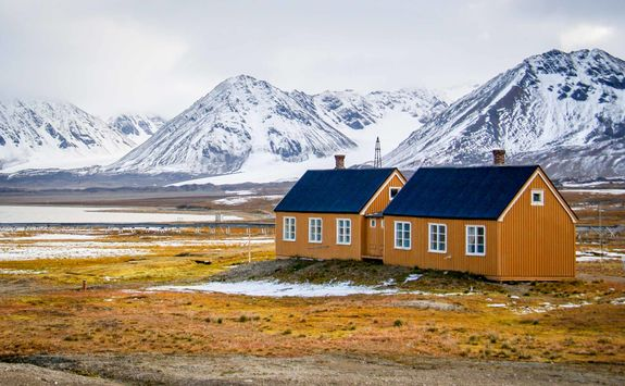 house in svalbard