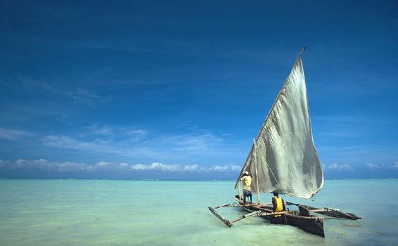 Dhow in Zanzibar