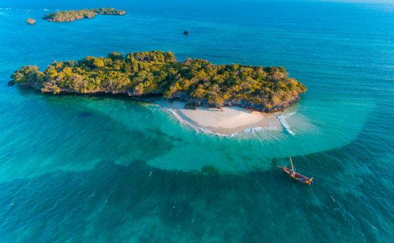 Fumba Island in Zanzibar