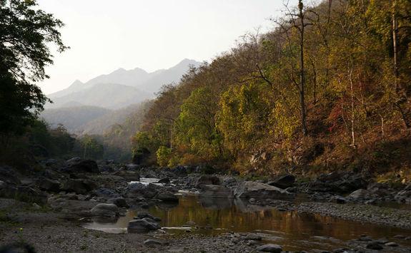 Ramganga river, India