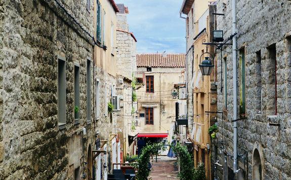 Alley in Porto Vecchio
