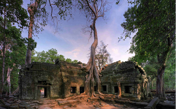 Ta Prohm before sunset