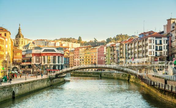 River in Bilbao