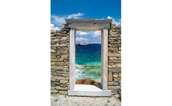 Delos window sea