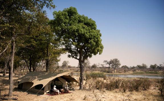 Selinda Explorers tent