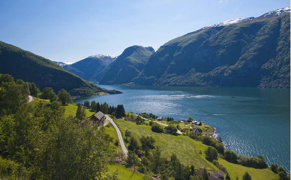 View at aurland Flam