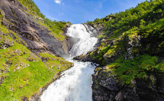 Waterfall in Flam
