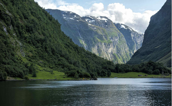 Fjord in Bergen