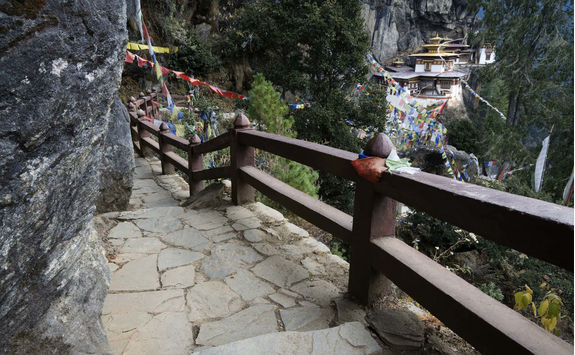 tigers nest stairs