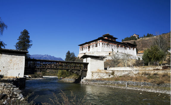 paro dzong and bridge