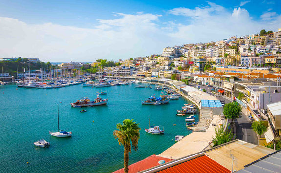 Piraeus port, Athens