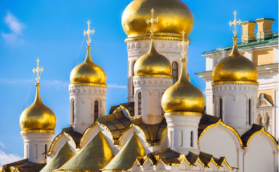 Russian church domes