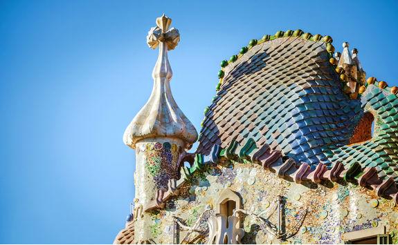 Casto Batllo rooftop