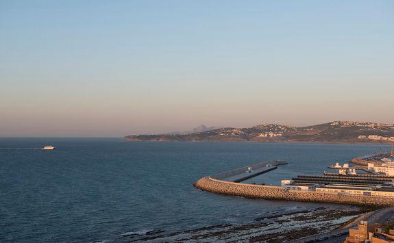 Tangier harbour