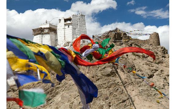namgyal prayer flags