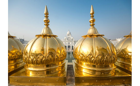 golden temple domes