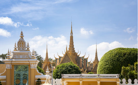 royal palace view