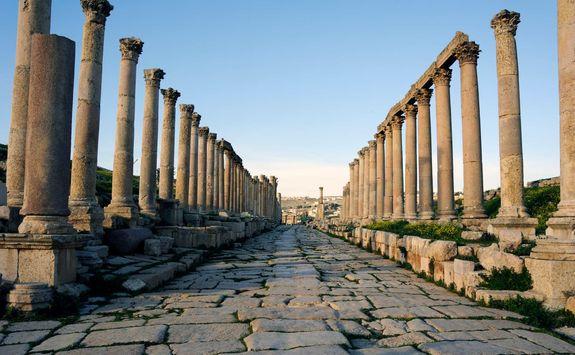 street of columns