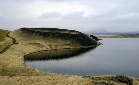 Pseudocrater at Lake Myvatn