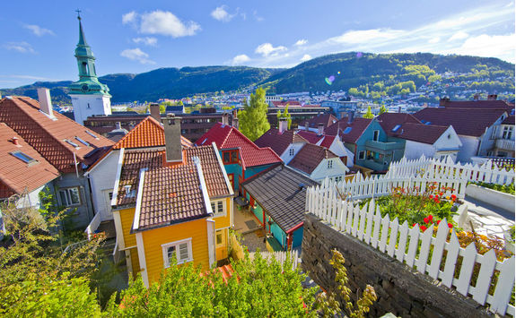 Bergen's colourful houses