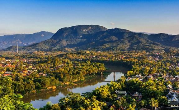 Landscape View Over City