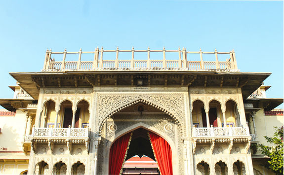 Inside the City Palace of Jaipur