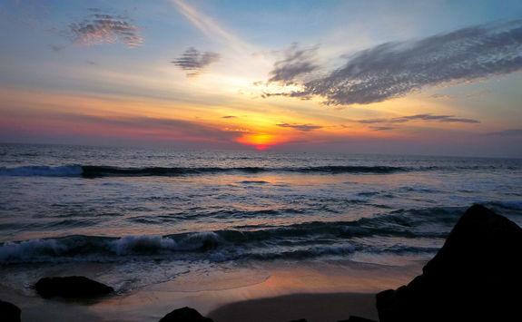 Sunset at Kerala Beach