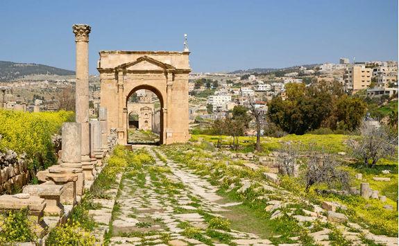 Entrance Gate at Jerash