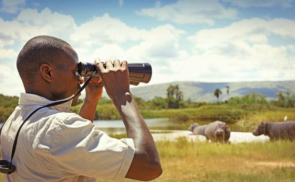 Akagera National Park ranger