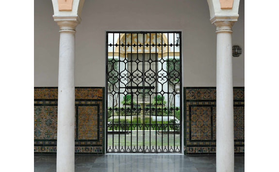 Patio of convent in Seville