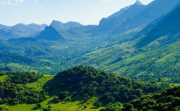 Sierra de Grazalema from above