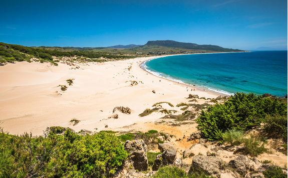 Sand dune of Bolonia beach