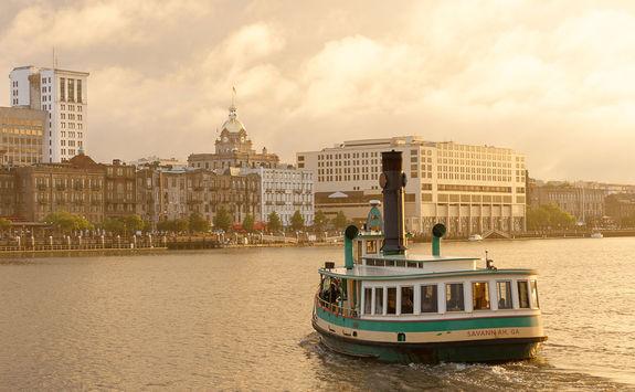 Savannah water ferry