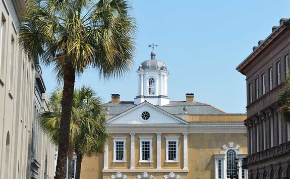 Old Exchange building, Charleston